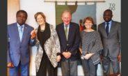 La directrice des Peace Corps reçoit SEM Frédéric Hegbe